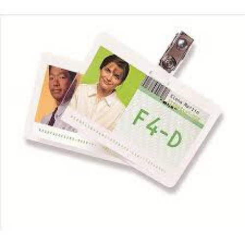 ID Laminating Pouches - 250 Micron - Badge - 67x98mm