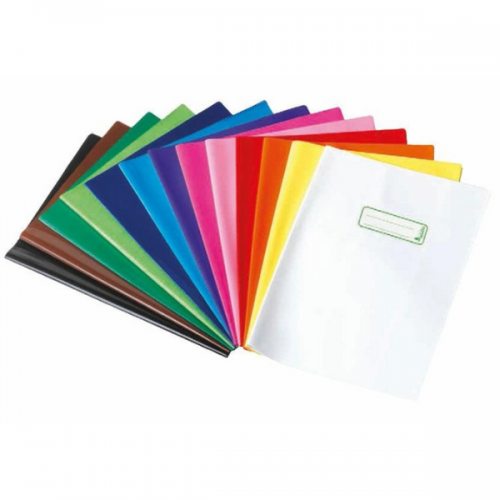 Coprimaxi A4 Exercise Book Covers Opaque Colours - 24 Per Pack