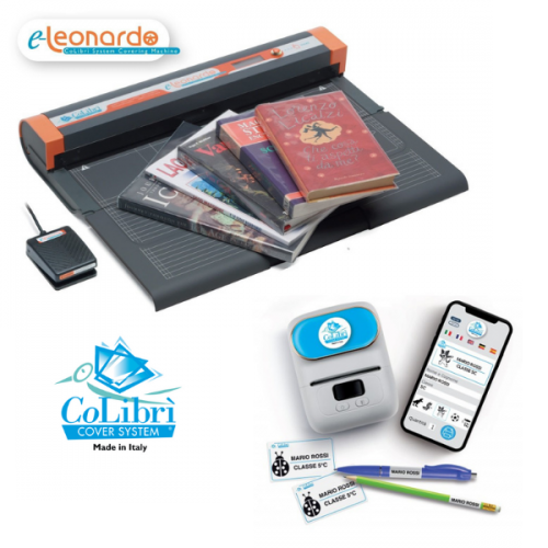 E-Leonardo Colibri Book Covering Machine Package