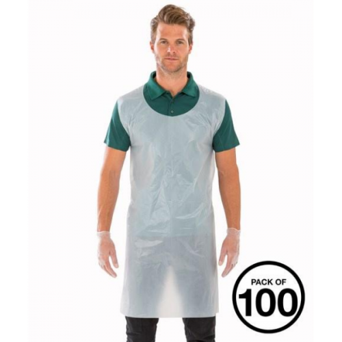 Disposable Aprons - Pack 100