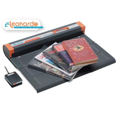 E-Leonardo Automatic Book Covering Machine from Colibri