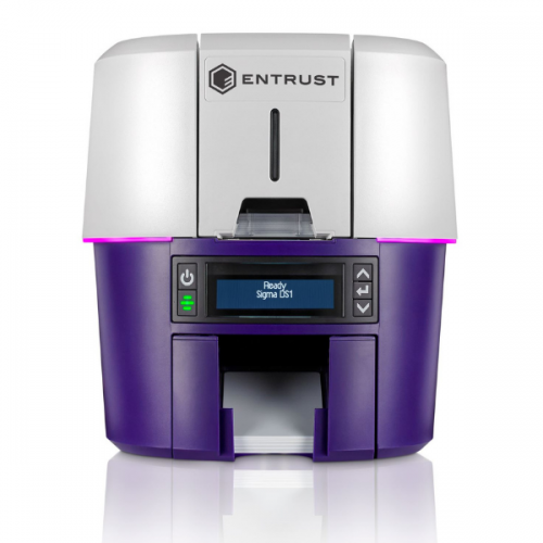 Entrust Datacard Sigma DS1 Simplex ID Card Printer