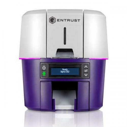 Entrust Datacard Sigma DS2 Simplex ID Card Printer