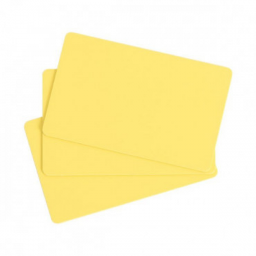 Evolis C4101 Yellow PVC Cards - Pack of 100