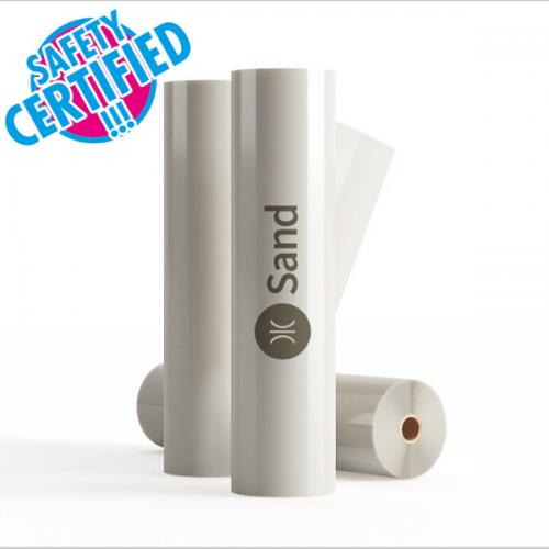 1372mm 100Mic Protec 385P Sand PVC-Monomeric Floor Laminate 50 Mtrs