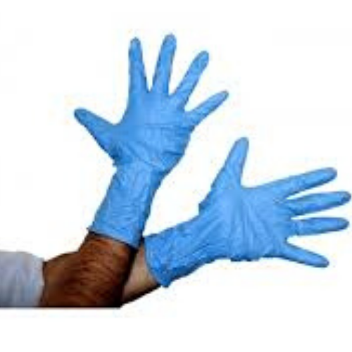 CHEMICAL RISK NITRILE POWDER FREE DISPOSABLE GLOVE - STYLE NO. 4031