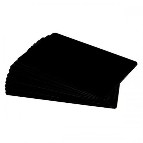 Black Matt Premium 760 Micron Cards, Foodsafe, Coloured Core - Pack of 100