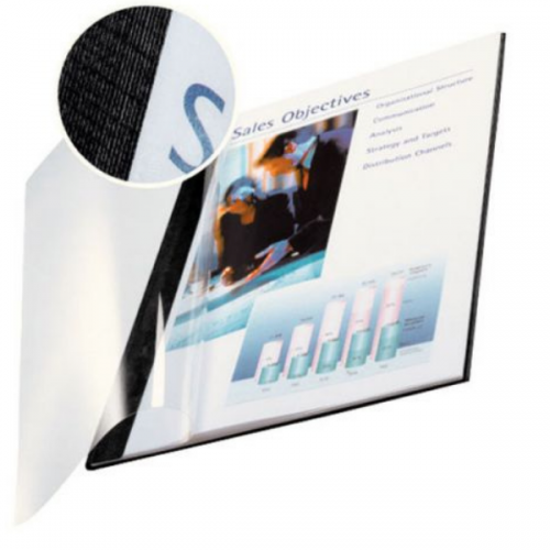 Leitz impressBIND Soft Covers With Clear Front 3.5mm - 14mm