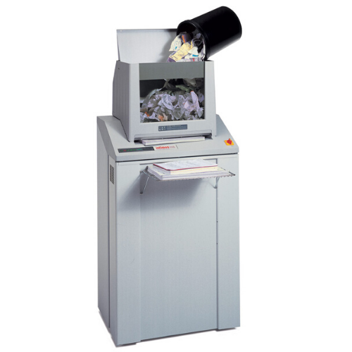Intimus 852-VS P-4 security level. Compact high-capacity shredder provides data security for an entire office floor.