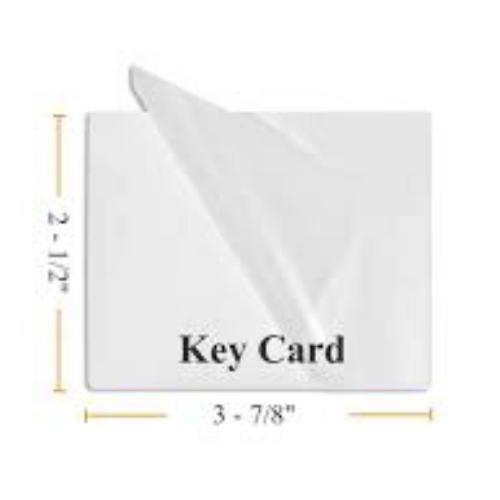 ID Laminating Pouches - 250 Micron - Key Card - 64x98mm