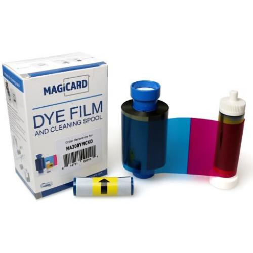 Magicard MA300YMCKO Colour Ribbon (300 Prints)