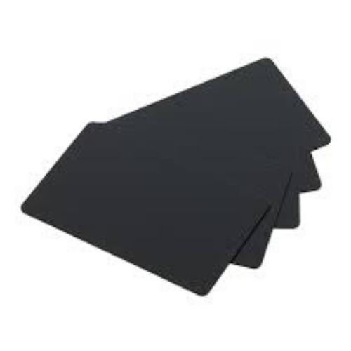 PVC-U Blank Matt Black Food Grade Cards - Pack of 500