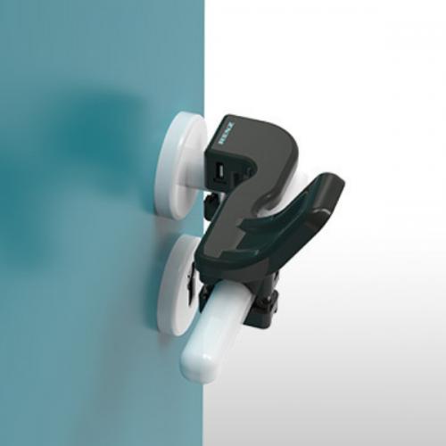 Renz Hygienic Hands Free Door Opener - Umbra Grey