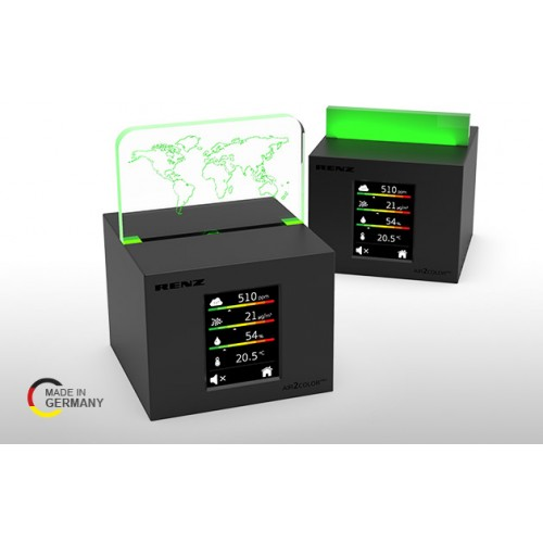 Renz AIR2COLOR PRO CO2 - Traffic Light - Makes Air Quality Visible