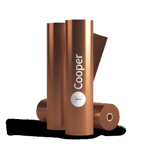 320mm Sleeking Foil Copper 76mm Core 300 Metres