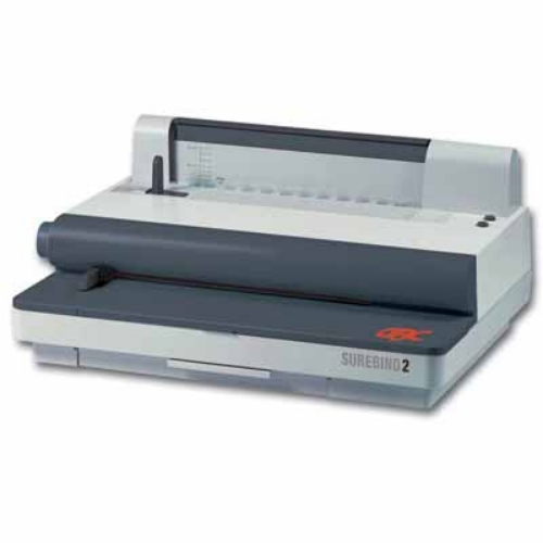 Surebind System 2 strip binding machine, binds documents up to 50mm