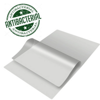 A4 150 Micron Gloss Anti Bacterial Pouches - 100 Per Box