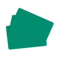 Evolis C4401 Green PVC Cards  - Pack of 100