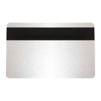 Silver 760 Micron Cards with 2750oe Hi-Co Magnetic Stripe, Coloured Core - Pack of 100