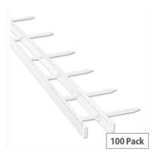 Surebind Strips - 25mm: 250 Sheet Capacity - White
