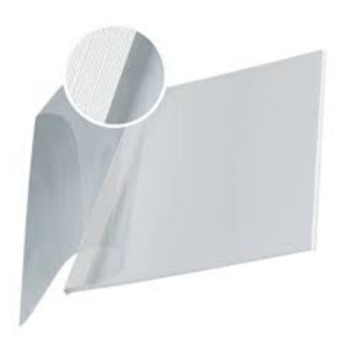 Impress Bind 10.5mm White Clear Front