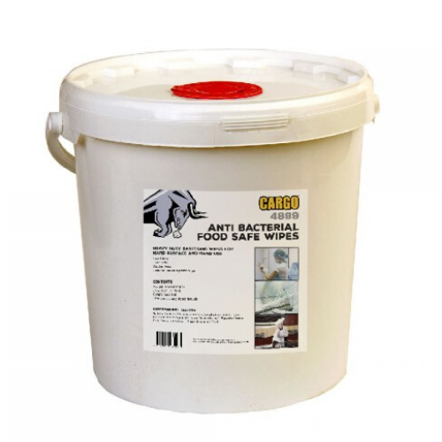 CARGO WHITE ANTI-BACTERIAL WIPE - STYLE NO. 4899