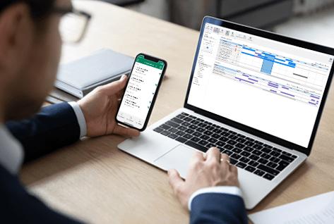 Desk booking application software