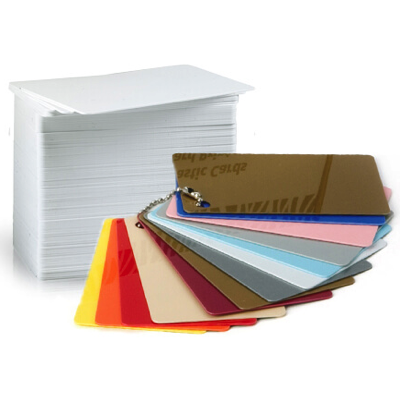 PVC Plastic Card, plain or coloured