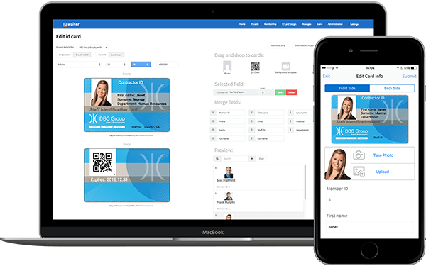 IDwaiter - Track and trace digital ID cards