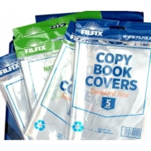 Filfix Standard Copy Covers 5 Pk