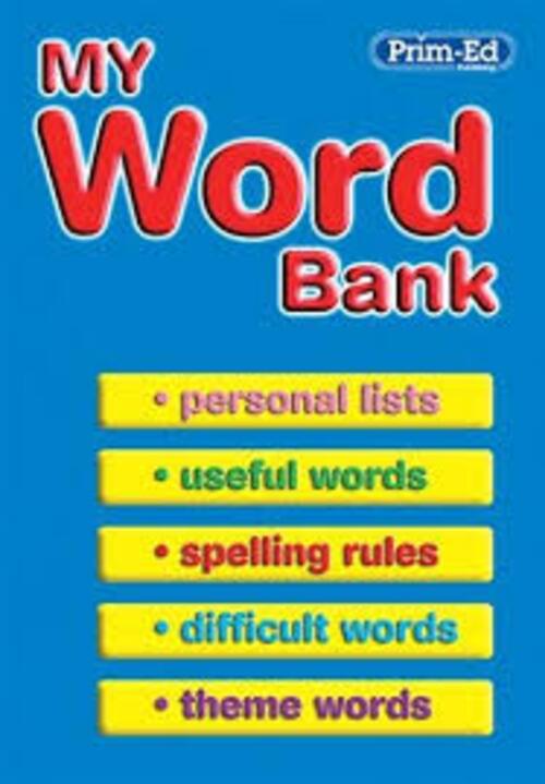 My Word Bank Prim-Ed