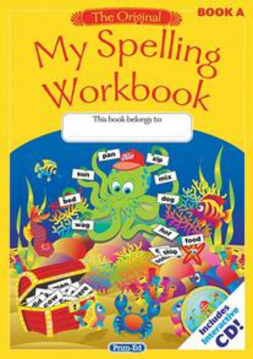 Original My Spelling Workbook A Prim-Ed