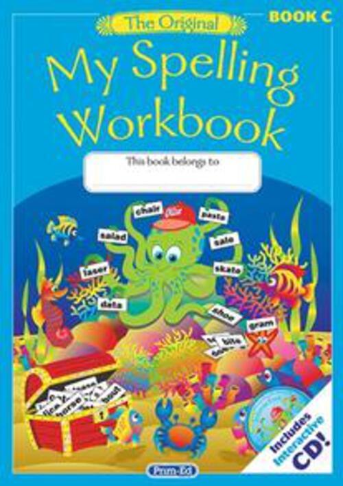 Original My Spelling Workbook C Prim-Ed