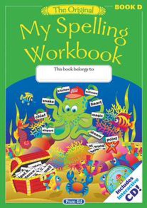 Original My Spelling Workbook D Prim-Ed