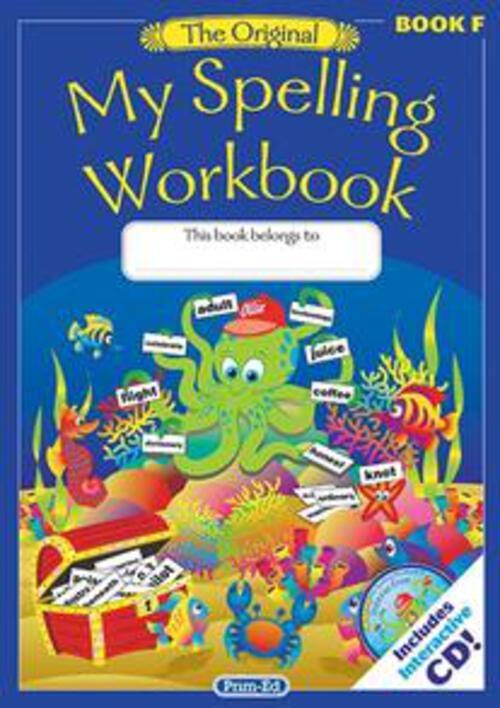 Original My Spelling Workbook F Prim-Ed