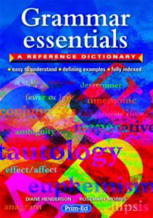 Grammar Essentials - A Reference Dictionary P