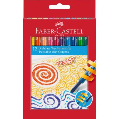 Twistable Wax Crayons Box 12