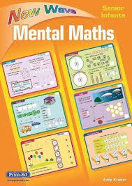 New Wave Mental Maths Senior Infants Prim-Ed