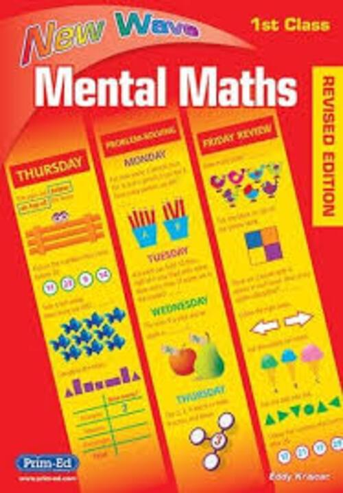 New Wave Mental Maths 1st Class Prim-Ed