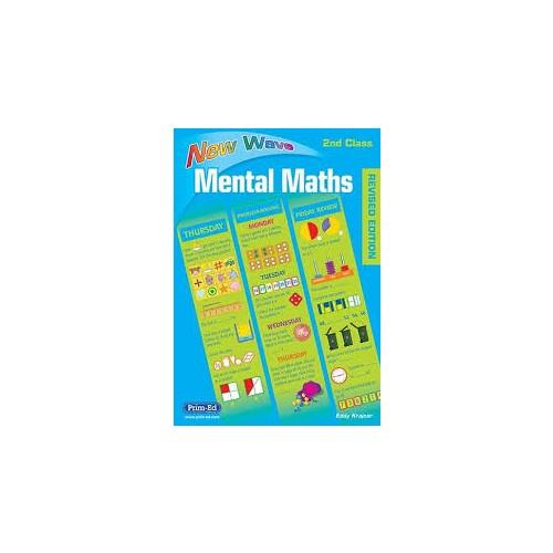New Wave Mental Maths 2nd Class Prim-Ed