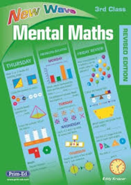 New Wave Mental Maths 3rd Class Prim-Ed
