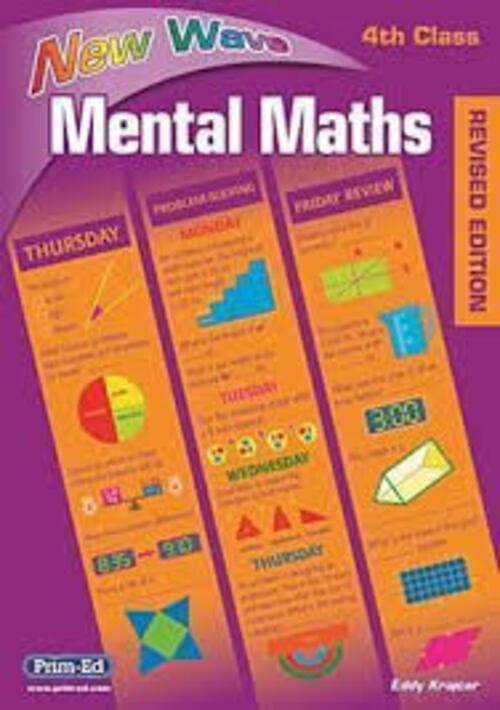 New Wave Mental Maths 4th Class Prim-Ed