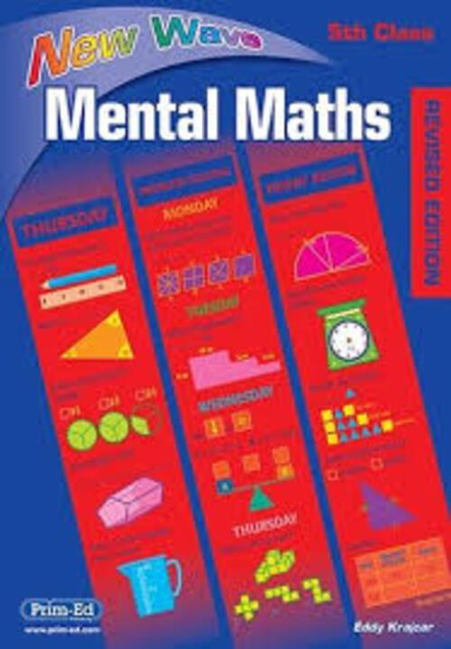 New Wave Mental Maths 5th Class Prim-Ed