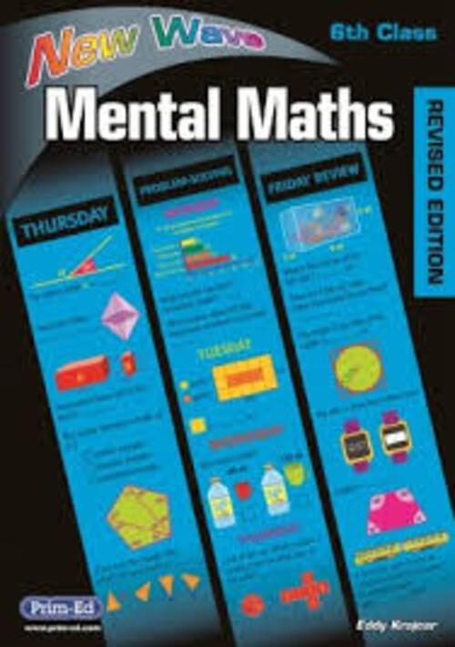New Wave Mental Maths 6th Class Prim-Ed