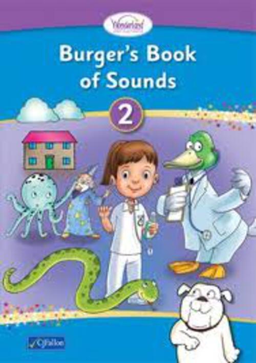 Wonderland Burgers Book of Sounds 2 Pack