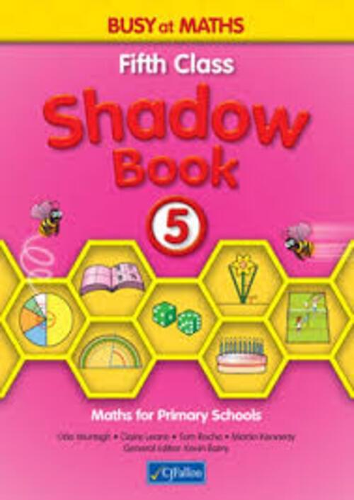 Busy at Maths 5th Class Shadow Book CJF