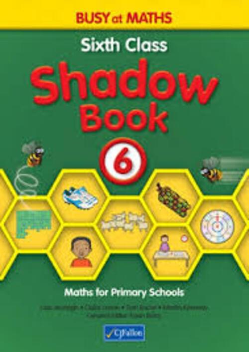 Busy at Maths 6th Class Shadow Book CJF