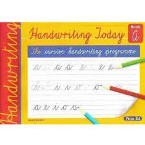 Handwriting Today Book A Prim-Ed