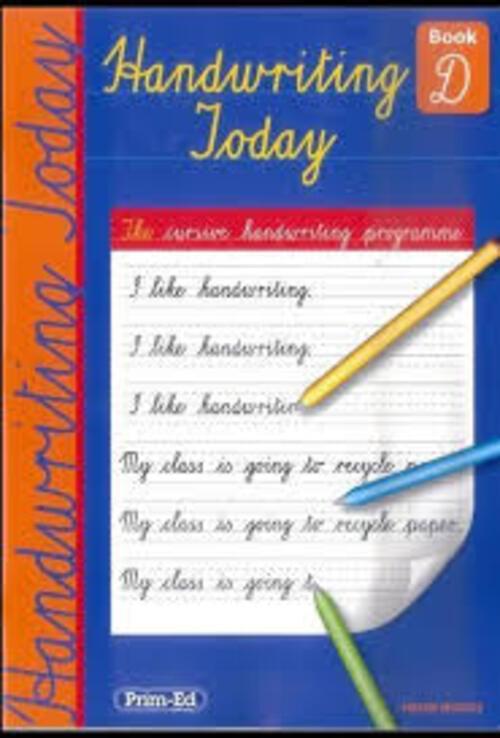 Handwriting Today Book D Prim-Ed