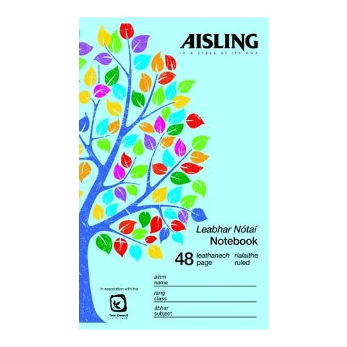 Aisling 48 Page Notebook